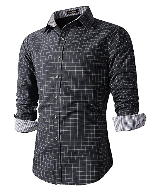 Mens Fitted Dress Shirts