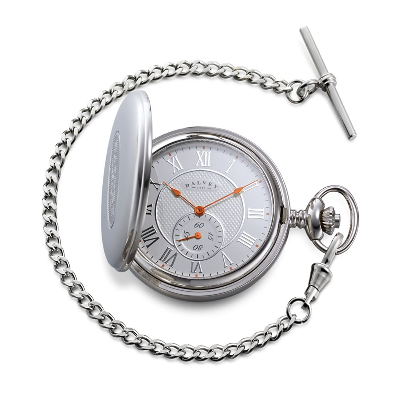 Skeletal Half Hunter Pocket Watch - Taschenuhr - Dalvey