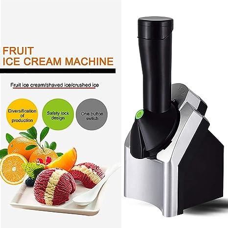 Frozen Yogurt Home Fruit Ice Cream Maker Sorbet Use For Gelato DIY Ice Cream Maker Ice Cream Maker Machine for Home Healthy Fruit Soft Serve Machine FANGMINGLEI Deluxe Frozen Dessert Maker