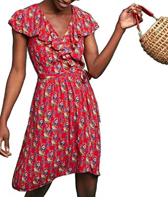 87e41ad24276 Anthropologie Rosalia Wrap Dress by Maeve - NWT (2) at Amazon ...