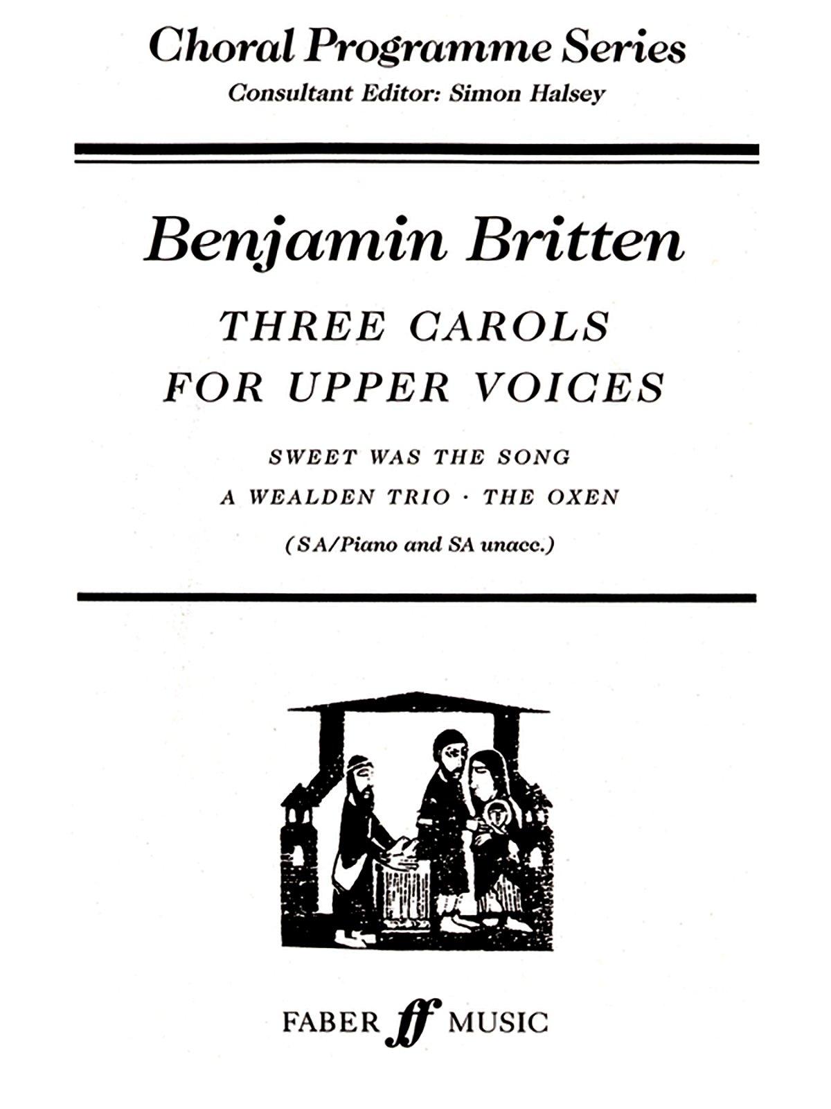 Download Three Carols (Faber Edition: Choral Programme Series) pdf epub