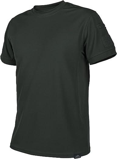 Helikon Hombres Táctica Camiseta Jungle Verde tamaño L