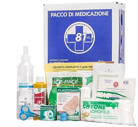 KIT de reposición anexo 2 paquetes de medicación para buzón médica primer primeros auxilios para hasta