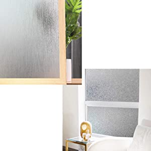 Privacy Window Film No Glue Frosted Glass Sticker Coavas Privacy Window Film No Glue Static Film