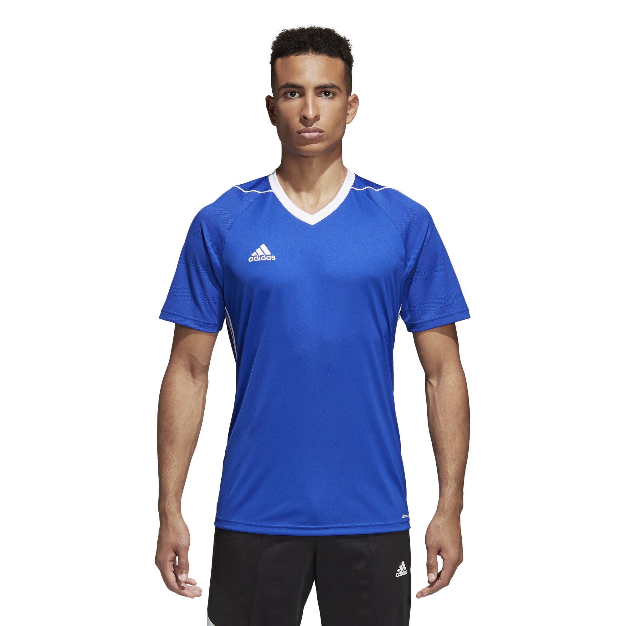 Adidas Tiro 17 Mens Soccer Jersey 2XL Bold Blue/White by adidas