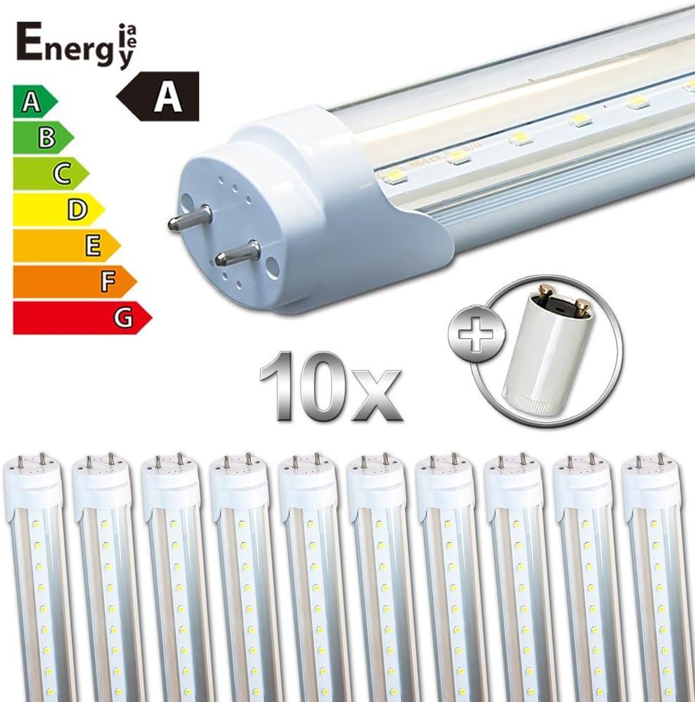Neutral White LEDVero T8//G13/SMD-LED Tubes Transparent 90/cm Warm White Cold White Neutral 3 Items
