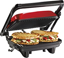 Hamilton Beach 25462Z Prensa Gourmet para hacer Sandwich/Emparedados Panini