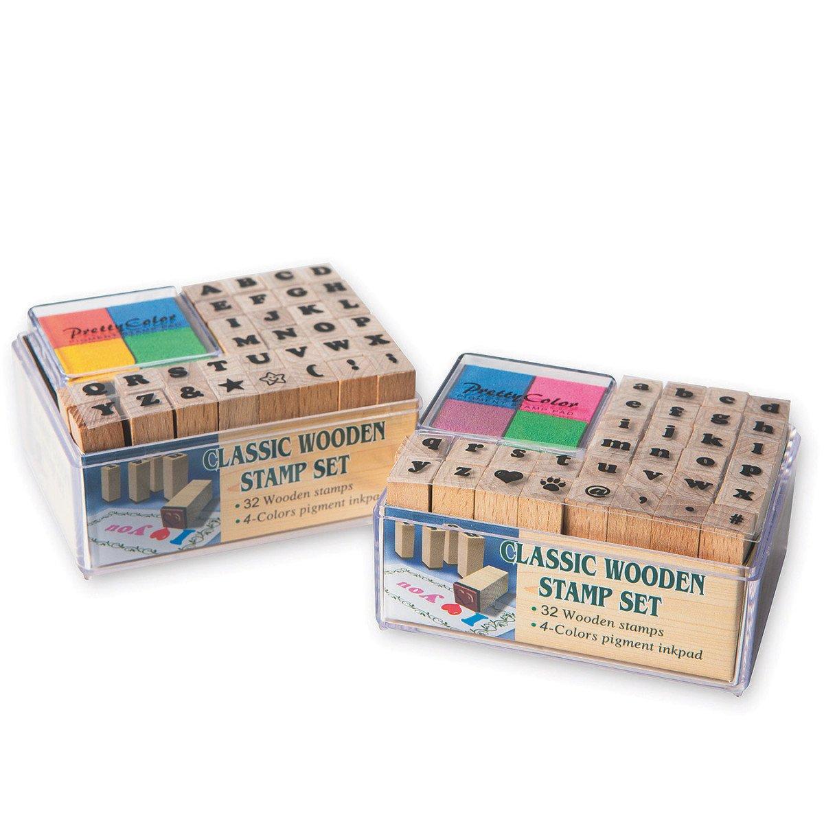 Wood Alphabet Stamps