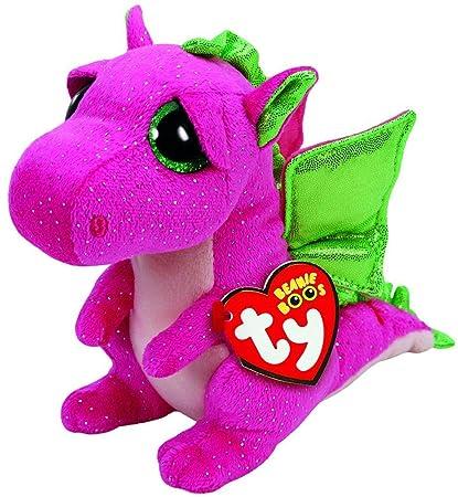 "Ty Beanie Boos 9"" BUDDY Darla the Pink Dragon"