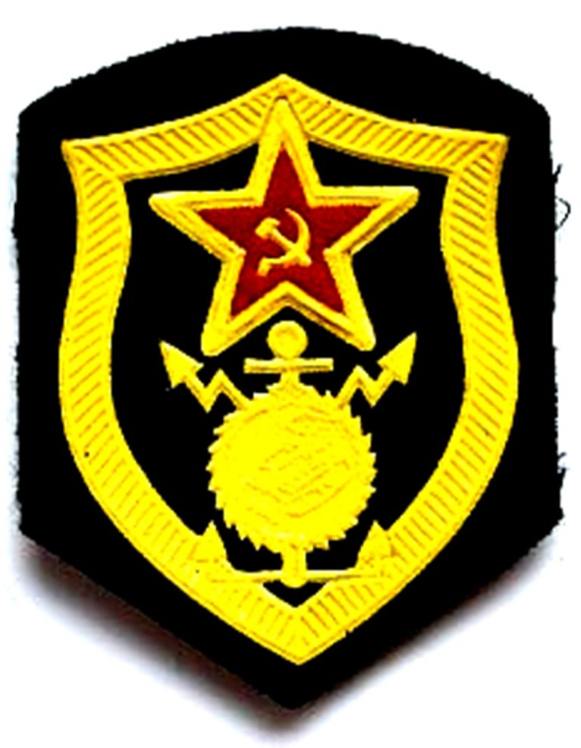 Build Troops Patch USSR Soviet Union Russian Armed Forces Military Uniform