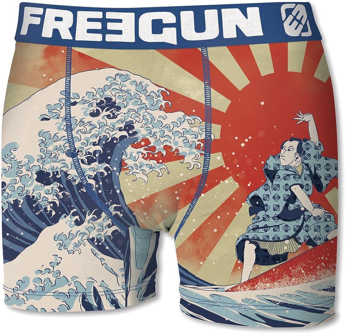 Lote de 6 b/óxers para hombre Freegun