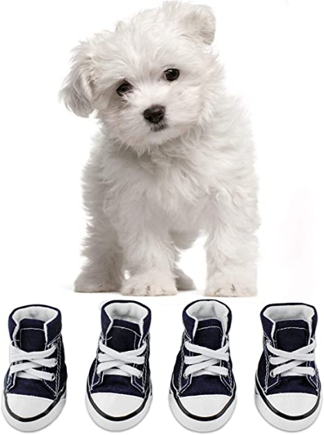 Mens Animal Dog Puppy Paws Casual Shoes for Mens Low Top Best Running Shoes