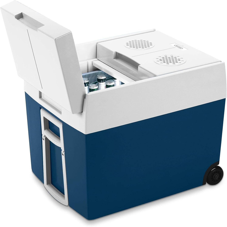 Mobicool MT48W AC/DC - Nevera Termoeléctrica 48 L, Azul Metalizado – 12/230 V A++
