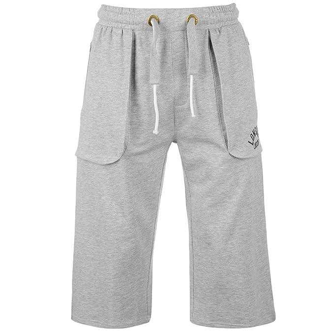 9bf6e29b8705 Lonsdale Box 3/4 Pantaloni Corsa Jogging Pantaloncini Uomo: Amazon.it:  Abbigliamento