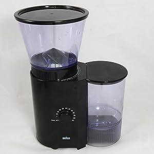Braun KMM30 Coffee/Espresso Burr Grinder Mill, Black 3045