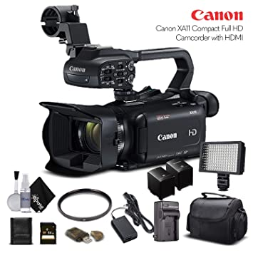 Amazon.com: Canon XA11 Compact Full HD videocámara 2218C002 ...