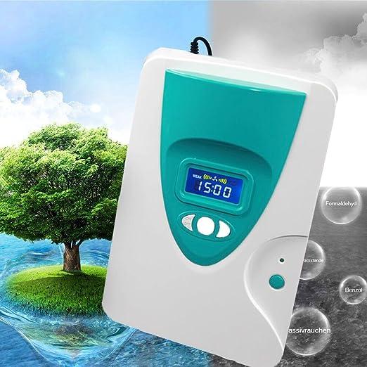 Inchant Generador de ozono Agua y purificación de Aire - ozono ...