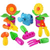 Liberty Imports Little Garden Tools 9-Piece Gardening Set for Kids (Assorted Styles)