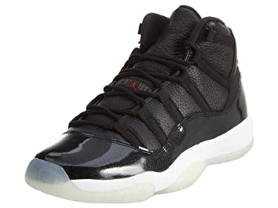 save off 25356 733ae Jordan Kid's Air 11 Retro BG, 72-10/BLACK/GYM Red-White-Anthracite, Youth  Size 4