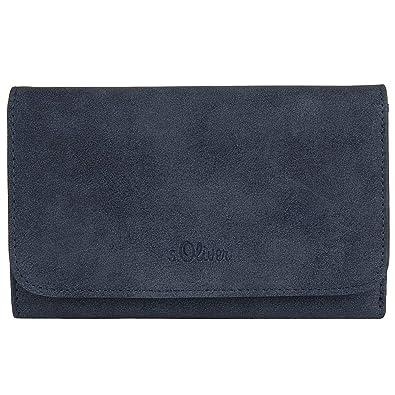 s.Oliver RED LABEL Damen Geldbörse im Vintage-Look gobelin blue 1   Amazon.de  Schuhe   Handtaschen a411ef1571