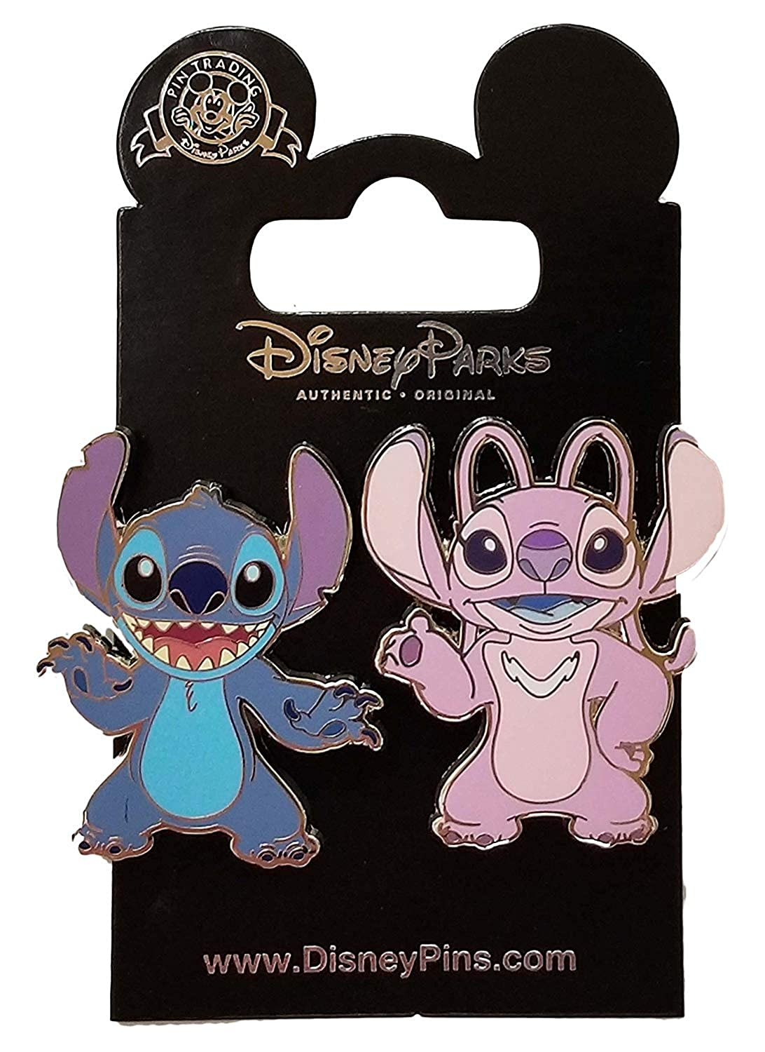 Amazon.com: 2018 Disney Stitch and Angel Pins: Clothing