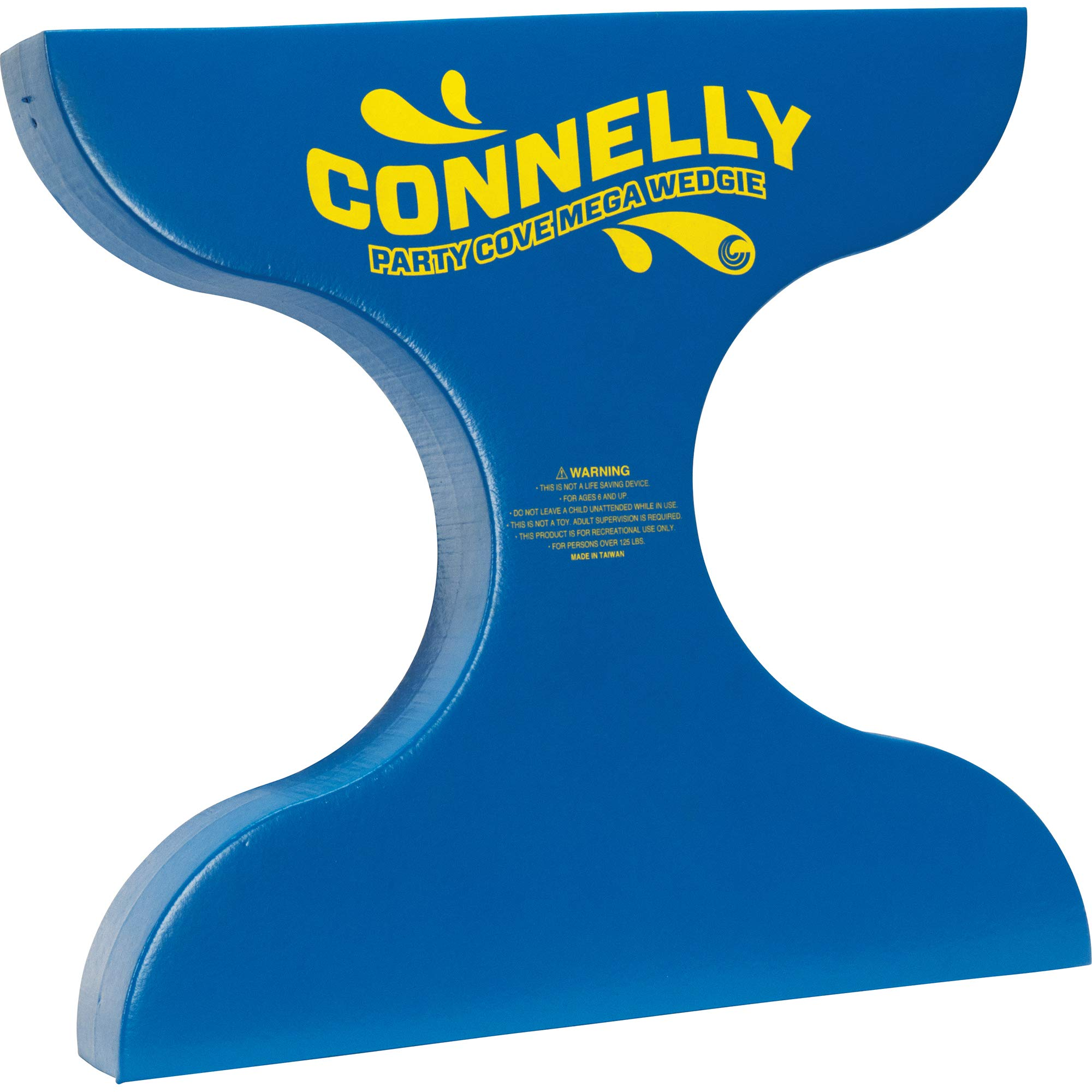 Connelly Skis Party Cove Mega Wedgie Waterskis, Blue, One Size by CWB