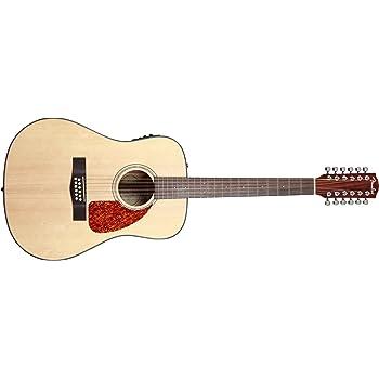 fender beginner 12 string acoustic electric guitar cd 160se 12 natural. Black Bedroom Furniture Sets. Home Design Ideas