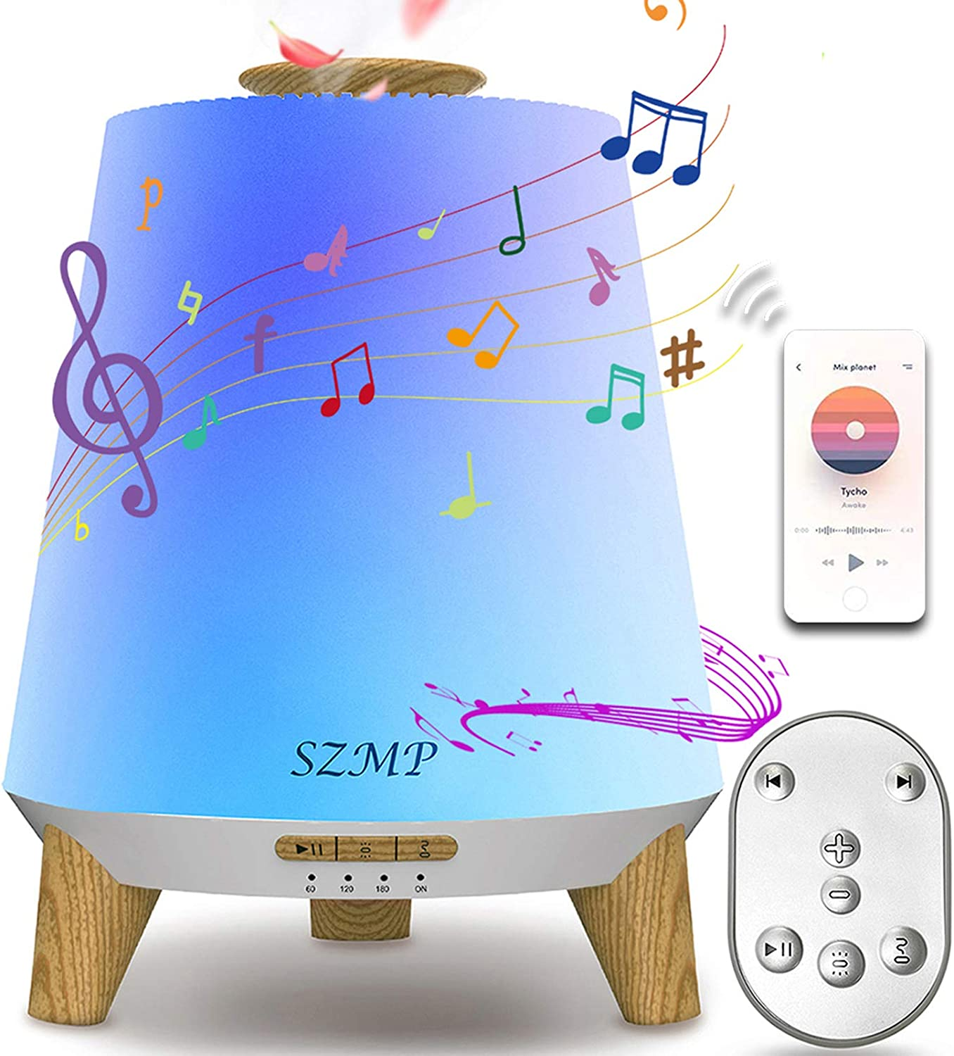 SZMP Essential Oil Diffuser Diffusers for with trust R Oils Purchase