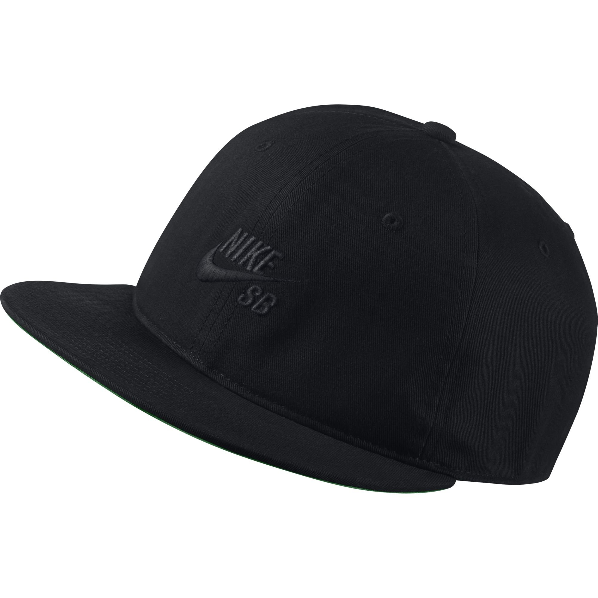 dc1f7b47fd6 Galleon - Nike SB Pro Vintage Snapback Hat (Black Pine Green Black Black)