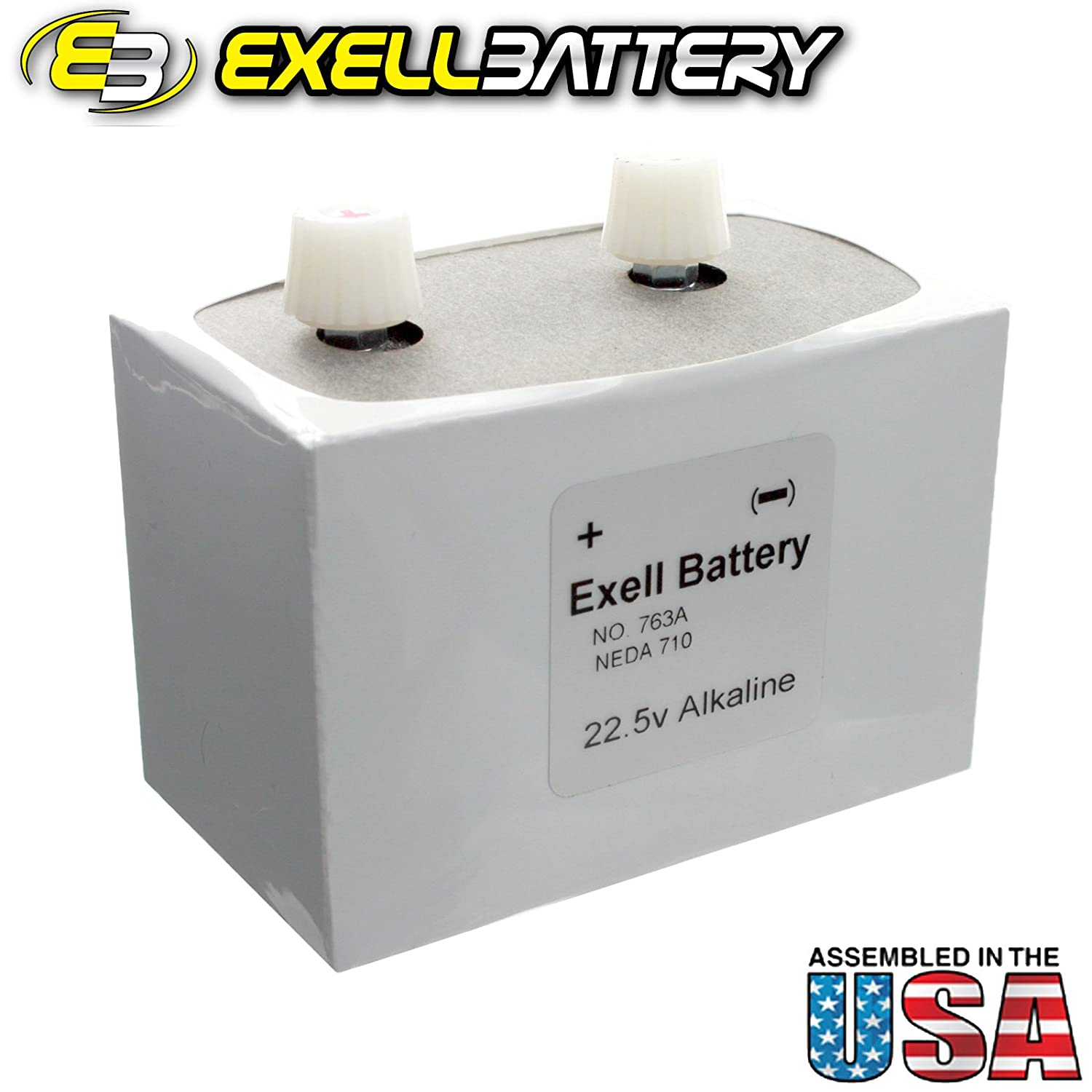 The 763 is a battery replacement for the NEDA 710 battery