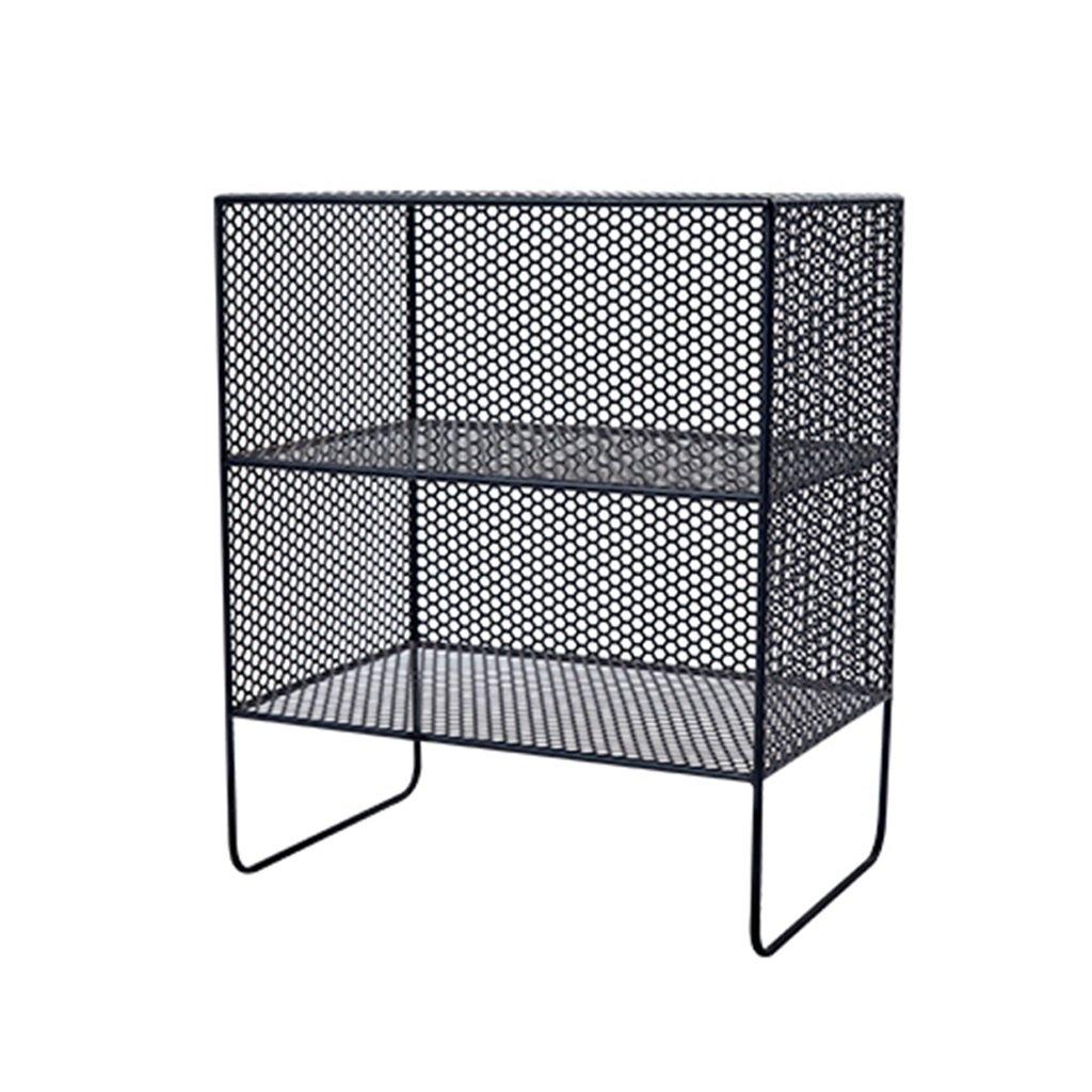 96d566917c3e Size Black, (color Shelf Magazine Rack Storage Multi-Layer Floor ...