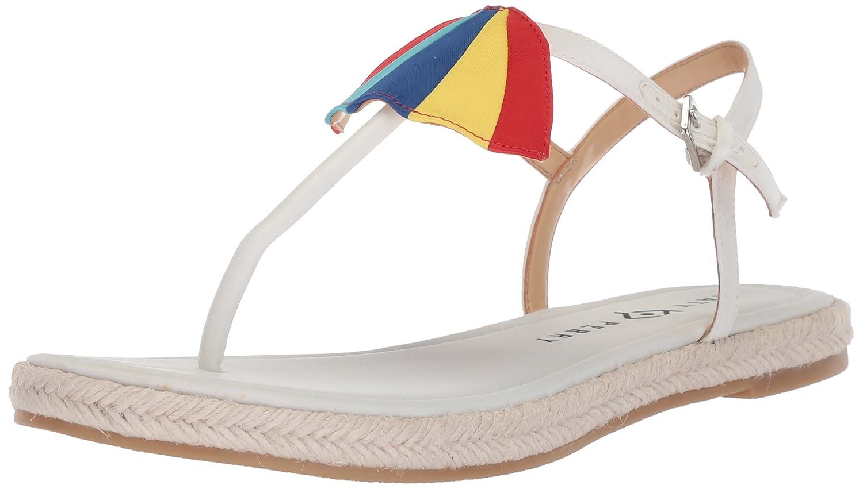 Katy Perry Women's The Shay Flat Sandal B07534RNCK 10 B(M) US|White