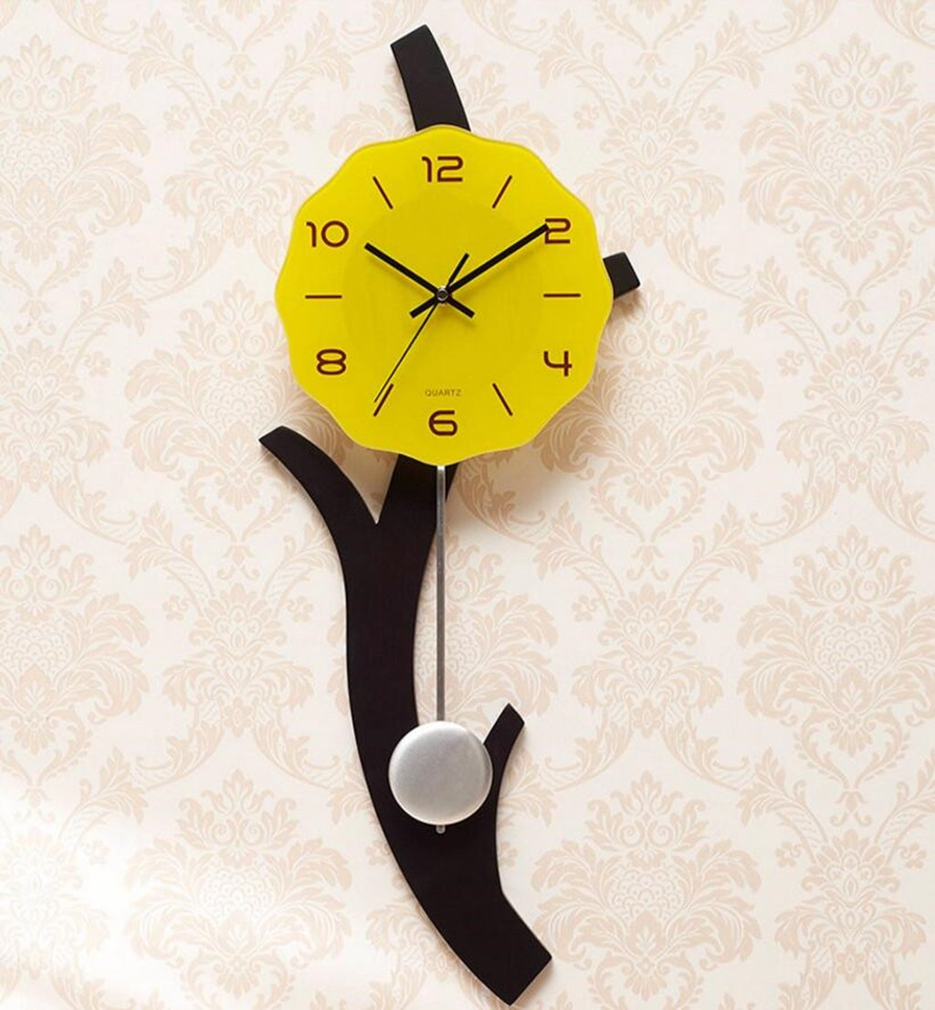 Sucastle Simple and stylish, personal and mute, Clocks, 12-inch (no battery) NCDB