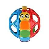 Baby Einstein Bendy Ball Rattle Toy, Ages 3