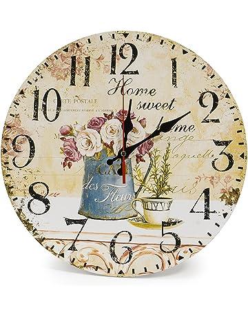 25e683211f68 LOHAS Home Reloj de pared redondo