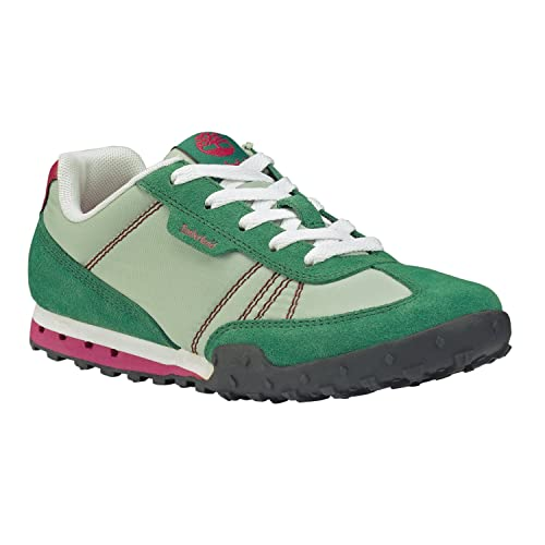 Scarpe Sportive Sneakers Donna Timberland in tela e crosta Mod. EK Greeley  Low Green Gree 5702A Col. Verde.  Amazon.it  Scarpe e borse e05ad28139f