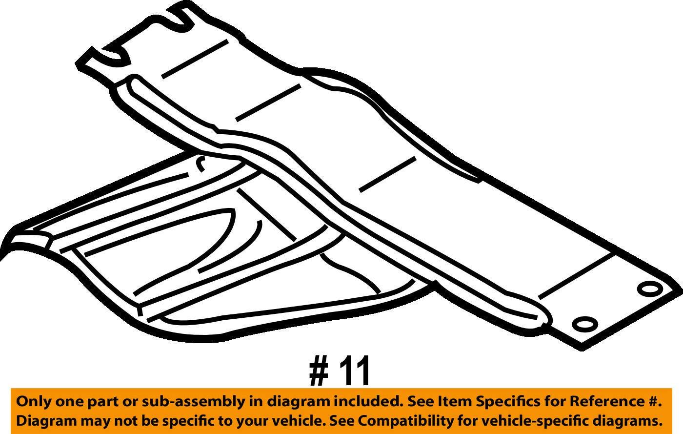 Mazda OEM 07-12 CX-7 Floor Rails-Bulkhead EH145639XA by Mazda (Image #2)