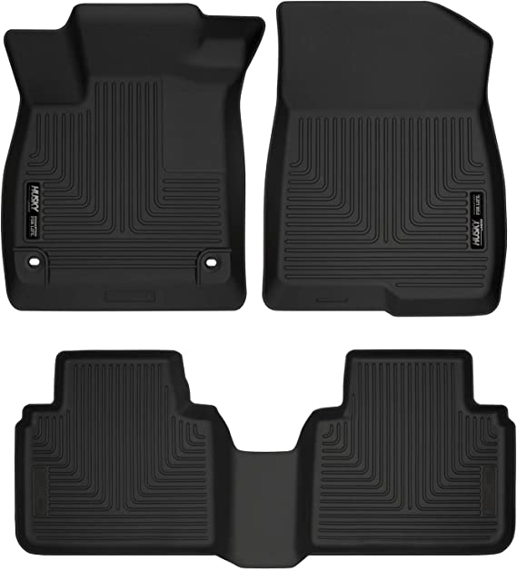 Husky Liners Fits 2018-19 Honda Accord Sedan Weatherbeater Front & 2nd Seat Floor Mats
