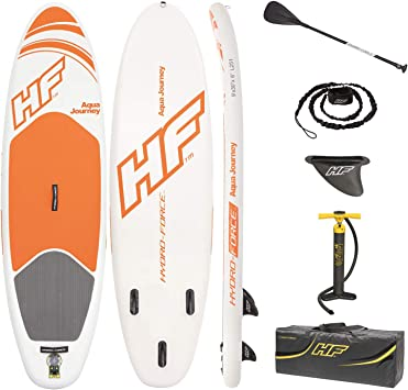 Amazon.com: Bestway Hydro-Force - Tabla de surf de remo ...
