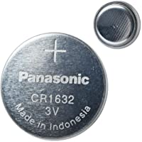 Panasonic CR1632 3V Lithium Coin Battery 5 Pack