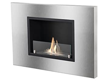 Amazon.com: Ignis Quadra Recessed Ventless Ethanol Fireplace with ...
