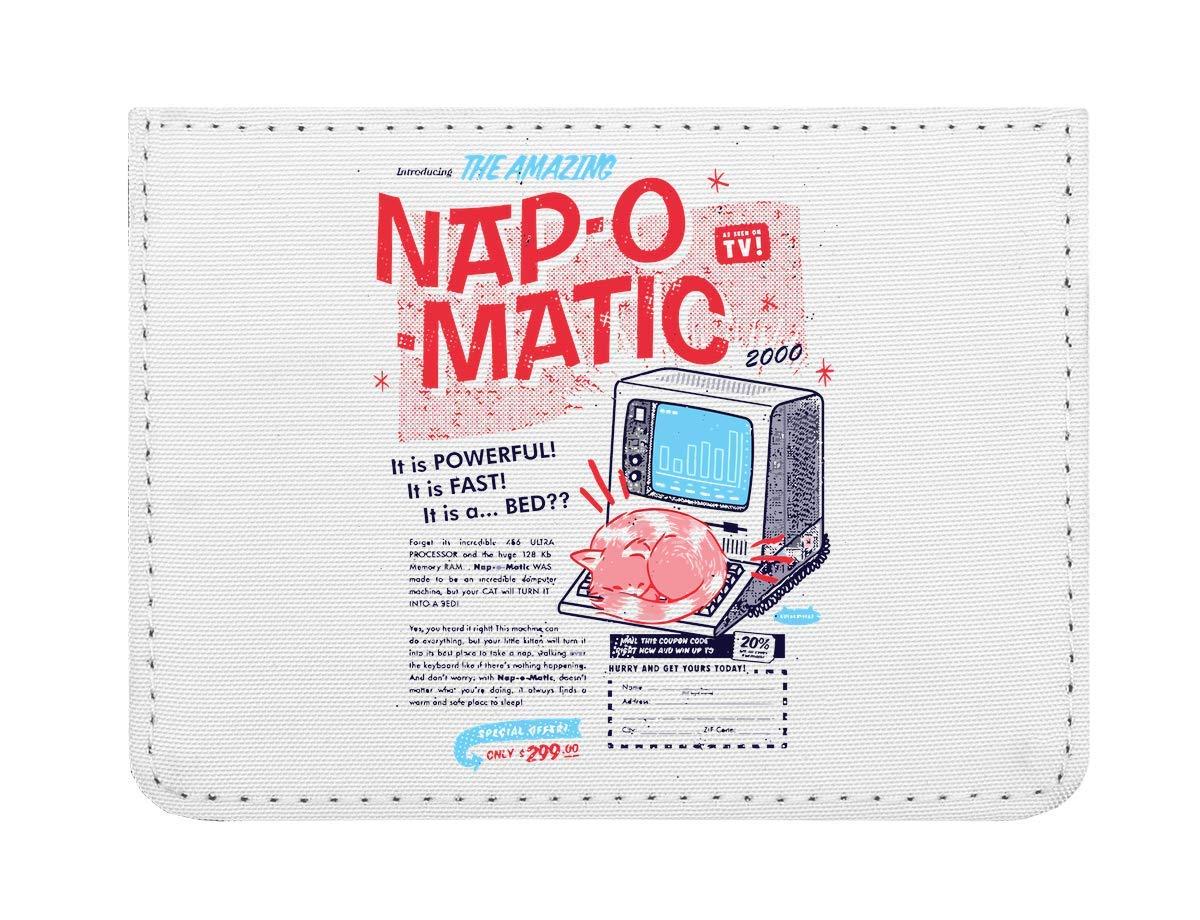 Nap O Matic Étui Cartes de crédit de Poche