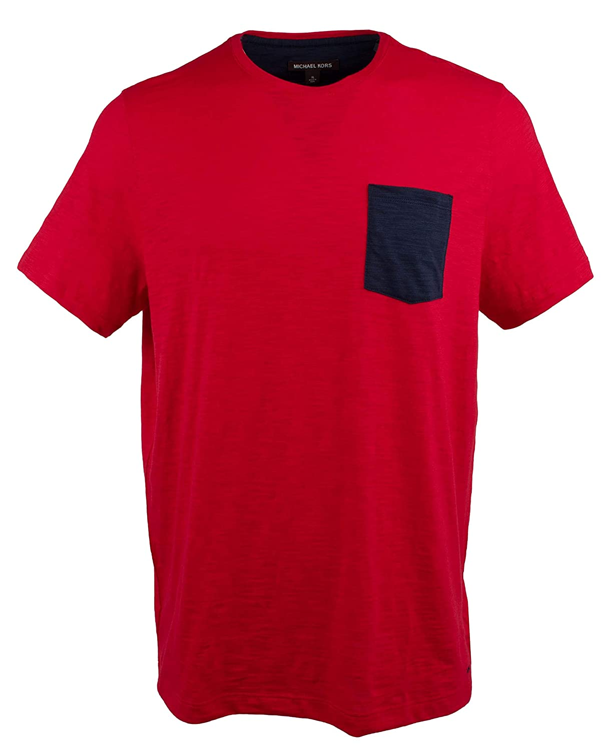 Michael Kors Mens Cotton Pocket T-Shirt: Amazon.es: Ropa y accesorios