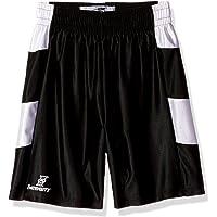 Intensity Pantalones Cortos de Baloncesto con Panel Lateral y diseño de cheurón para jóvenes