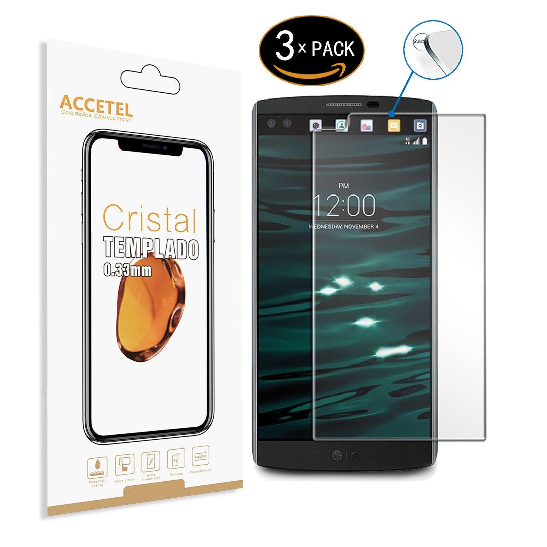 LG V10 Protector cristal templado: Amazon es: Electrónica