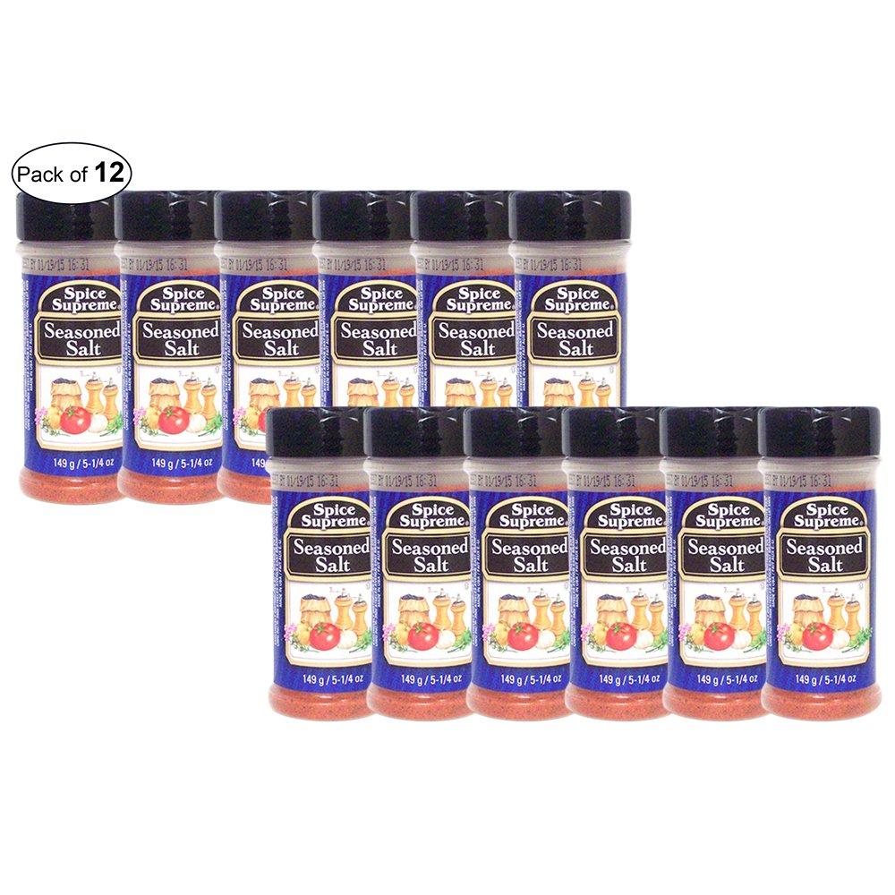 Spice Supreme- Seasoned Salt (149g) (Pack of 12)