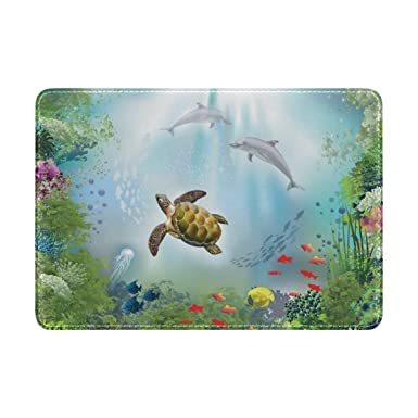 Amazon.com: Cooper Girl Delfines y tortugas de mar – Funda ...