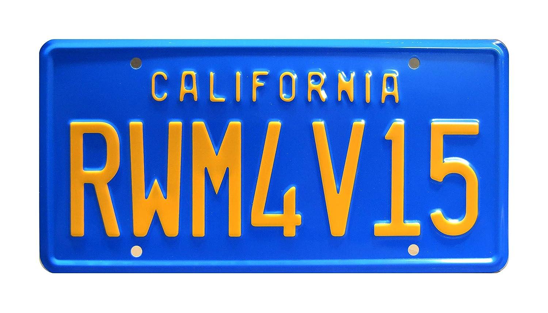 Metal Stamped Vanity Prop License Plate Celebrity Machines Bumblebee Transformers Beetle RWM4V15