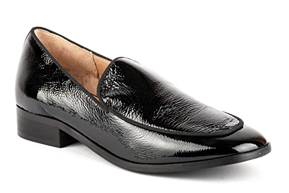 CARMENS PADOVA scarpe MOCASSINO DONNA A40135 NAPLAK NERO