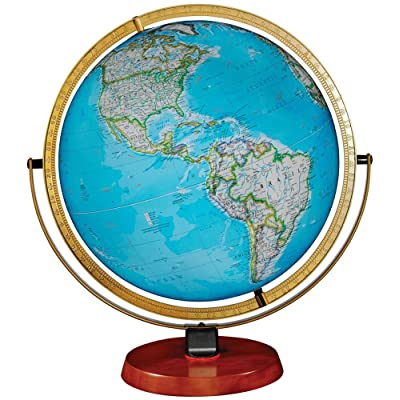 Nicollet Illuminated Desktop World Globe from National Geographic: Office Products